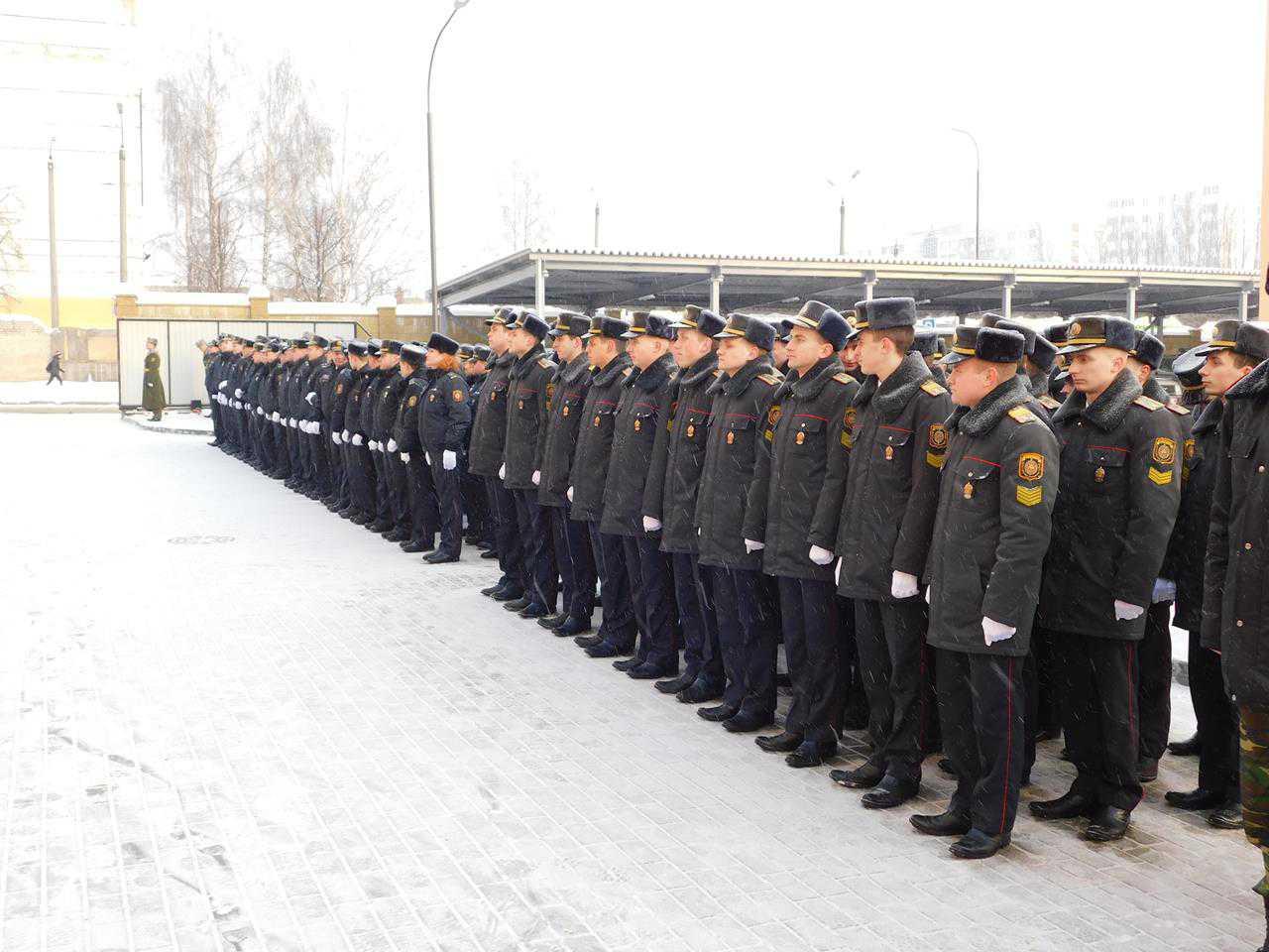 Обновленное здание Ленинского РОВД открыли в Могилеве
